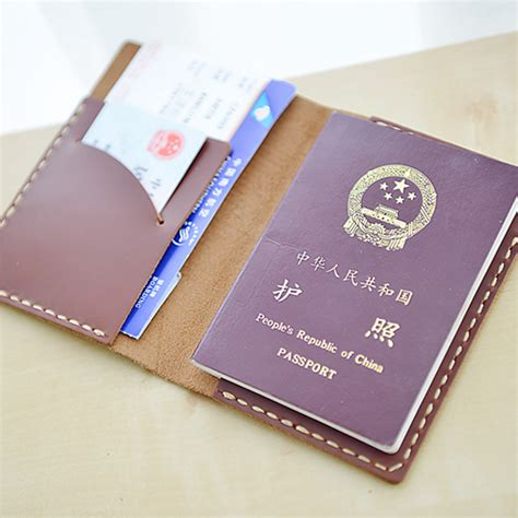 Handmade Leather Passport Cover - handmade leather passport holder passport cover passport
