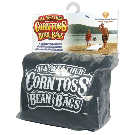 all weather bean bag toss driveway all weather bean bags black