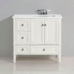 simpli home chelsea 37 quot single right offset bath vanity
