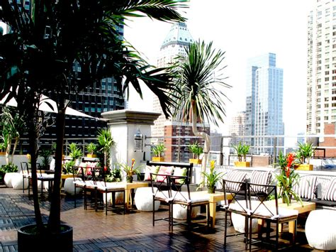 top rooftop bars in nyc 4 rooftop bars in nyc perfect to kick off spring