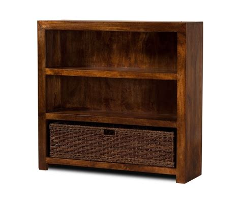 solid mango wood bookcase small casa indian