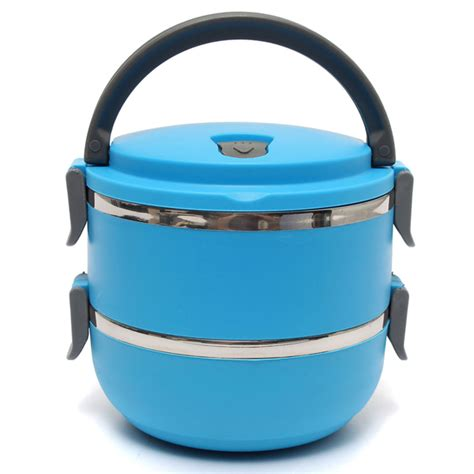 ariel tight 2 layer lunch box 2 layers stainless steel bento lunch box portable thermal