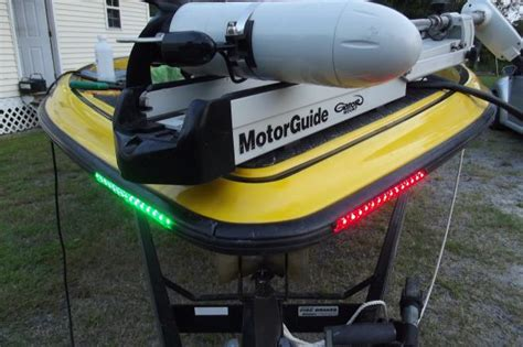 running lights for inflatable boats rub rail bluewater leds installed the hull truth