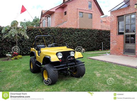 mini jeep car suv mini car jeep stock photo image 43289987