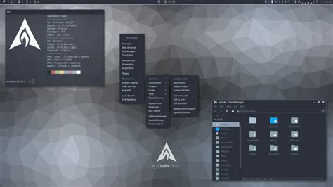 arch labs archlabs are proud to present archlabs linux