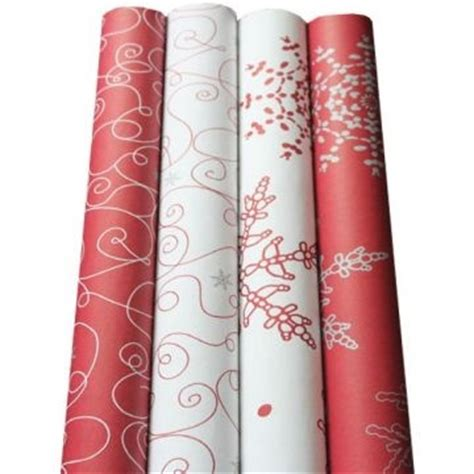 Christmas Wrapping Paper Rolls – Happy Holidays! Vintage Christmas Wrapping Paper