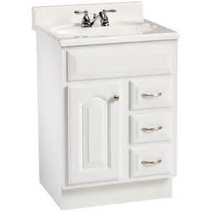 White Vanity At Lowes Enlarged Image