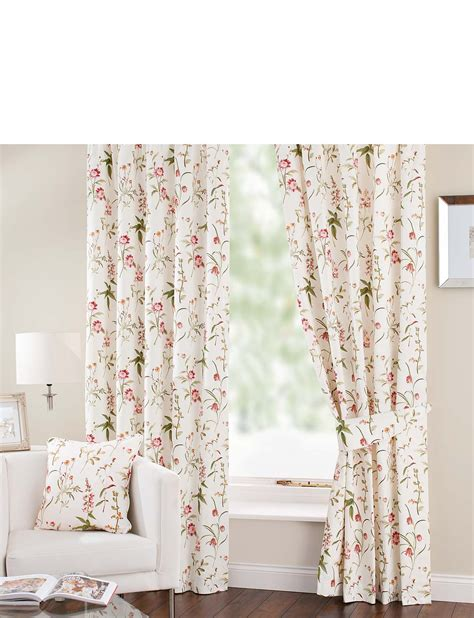 Alicia Lined Cotton Panama Curtains Chums