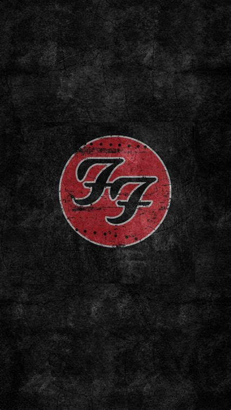 Foo Fighters Logo hd wallpaper foo fighters logo 2018 iphone wallpapers