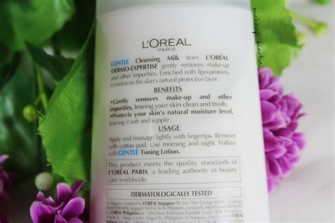 Harga L Oreal Gentle Cleansing Milk l oreal gentle cleansing milk review swatch price