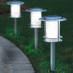 solar powered sidewalk lights solar powered led envirogadget