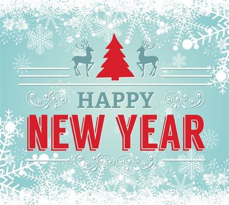 new year illustration happy new year illustration free vector