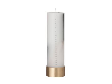 Calendar Candle Buy The Ferm Living Calendar Candle With Block Candle