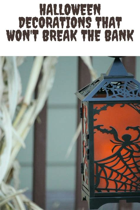 halloween themes for banks halloween decorations that won t break the bank kellys