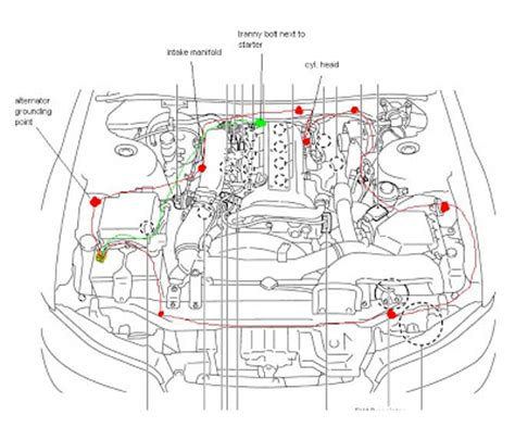 nissan ga16de engine diagram car repair manuals and