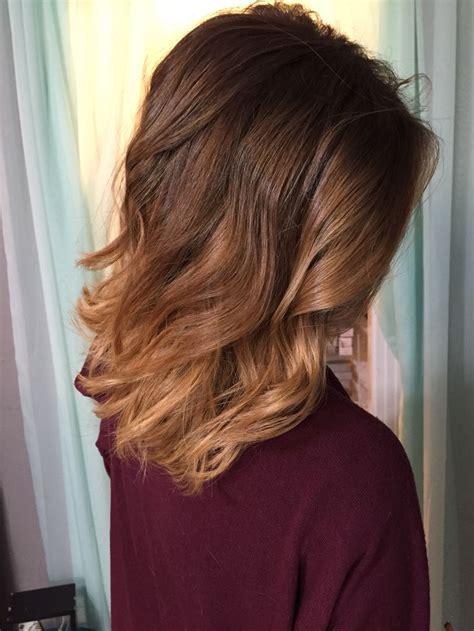 shoulder length ombre balayage best 25 shoulder length ombre hair ideas on pinterest