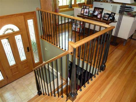 Steel Banister Rails Bennett Stair Company Inc Wood Amp Iron Rails