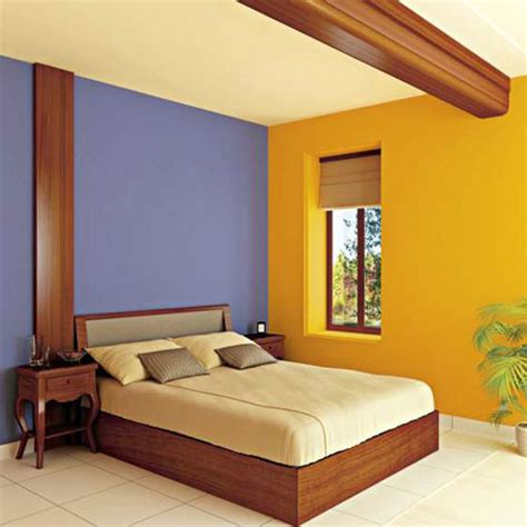 Wall Color Combination | wall paint combination for bedroom image home decorating