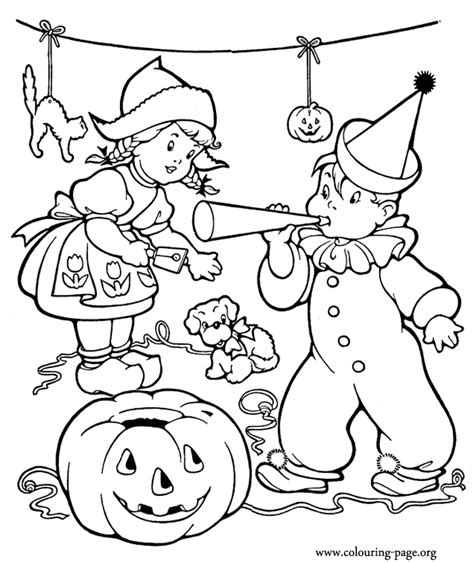 halloween birthday coloring page halloween halloween party coloring page