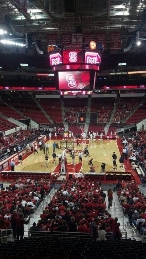 nc section pnc arena section 226 nc state basketball