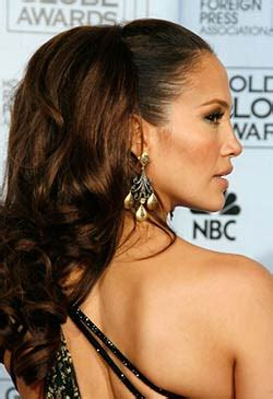 j lo ponytail hairstyles get the celebrity look jennifer lopez annabelles wigs uk