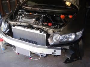 mishimoto aluminum racing radiator for 2009 honda civic