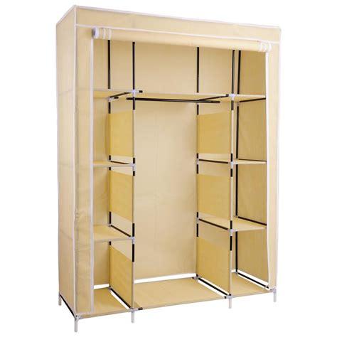 50 Quot New Portable Closet Storage Shelves Colthes Wardrobe Portable Closet With Shelves