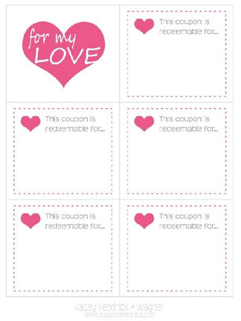 black and white printable love coupons imprimibles vales cupones de amor para san valent 237 n