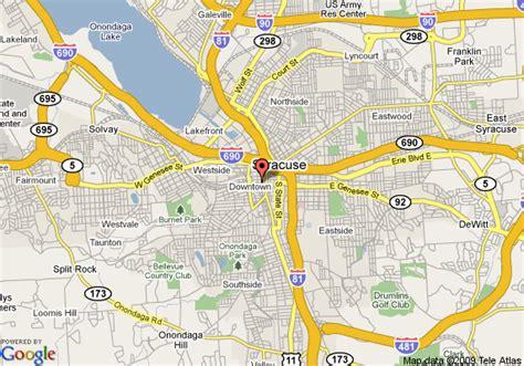 clinton ny map of jefferson clinton hotel syracuse