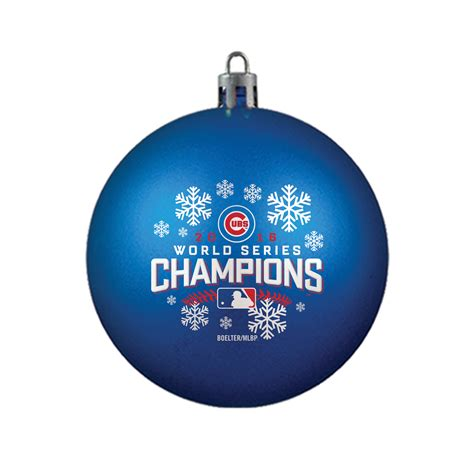 mlb 2016 world series chions ornament chicago cubs