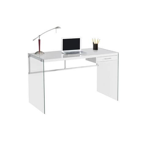 Cymax Computer Desk 48 Quot Computer Desk In Glossy White I 7209