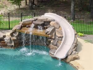 schwimmbad rutschen pool slides seahorse pools spas
