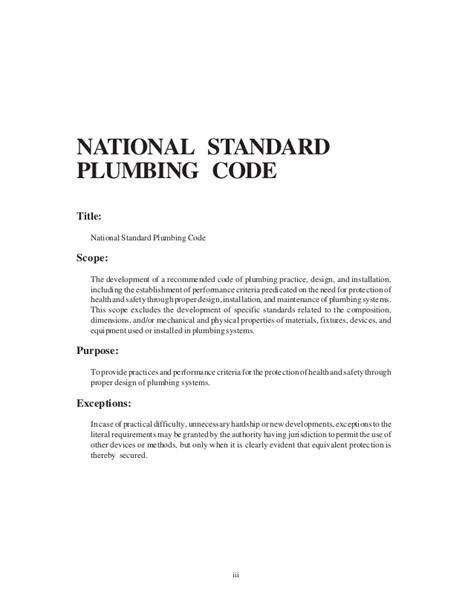 national plumbing code of the philippines