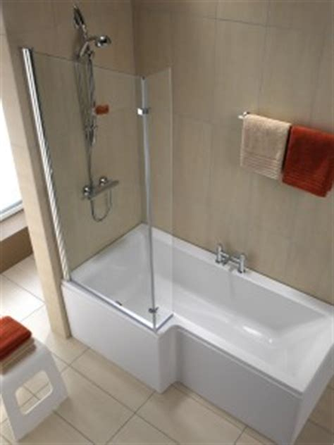 L Shaped Shower Bath Suites iflo metz bath cp bathrooms aberdeen