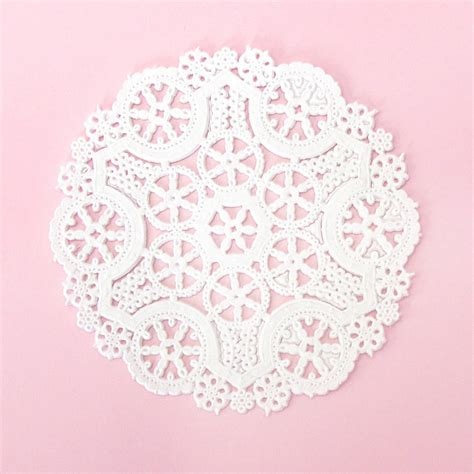 What To Make With Paper Doilies - paper doilies by blossom notonthehighstreet
