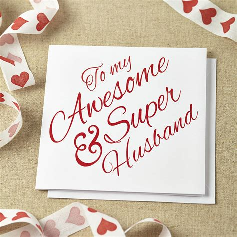 Wedding Anniversary Cards For by Image Gallery Husband Anniversary Card