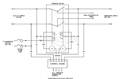 power transfer switch wiring diagram wiring diagram