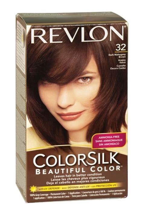 change dark mahogany brown hair to natural chocolate brown with highlights revlon colorsilk hair colour 32 dark mahogany brown