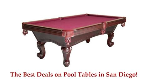 san diego discount pool tables