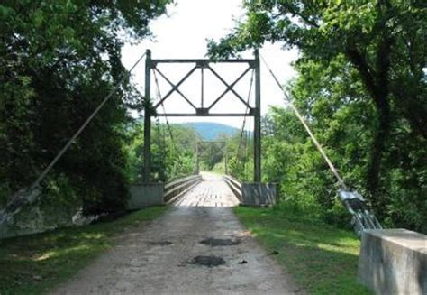 swinging bridge arkansas bridgehunter com sylamore creek swinging bridge