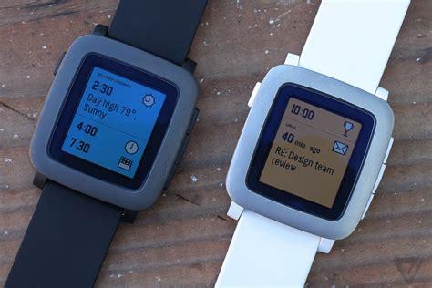 Pebble Time Steel Smartwatch White el smartwatch pebble time recibe nuevas opciones de comunicaci 243 n