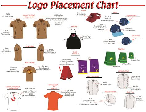 layout logo placement embroidery logo placement makaroka com