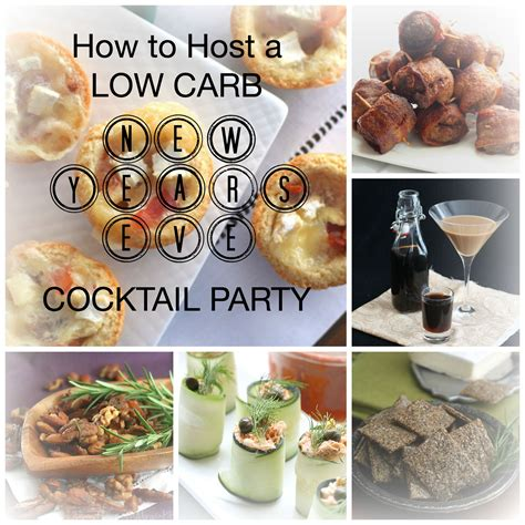 how to host a cocktail party how to host a low carb cocktail party for new year s eve