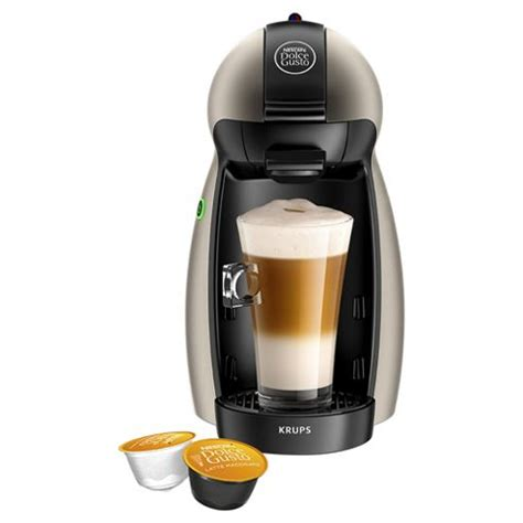 Nescafe Coffee Machine buy nescafe dolce gusto piccolo manual coffee machine by krups titanium from our pod