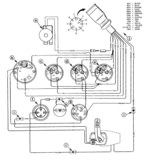 mercruiser marine engine harness schematic perfprotech