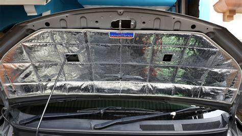 Peredam Ekslusive Panas Dan Suara Kap Mobil Honda Brio jual peredam panas suara kap mobil all new jazz solusiotomotif