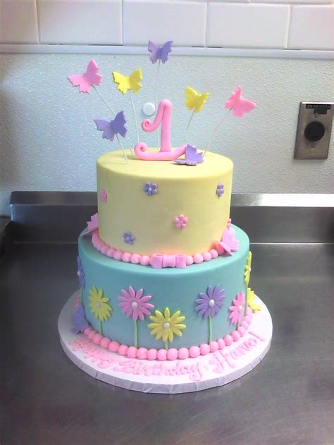 1st Birthday Cake by 1st Birthday Made Custom Cakes