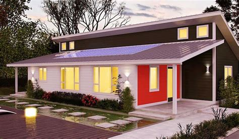 prefabricated eco homes affordable house