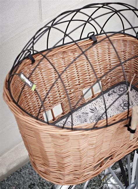 bike baskets for dogs thursday for the win pasja pet bike basket pawsh magazine