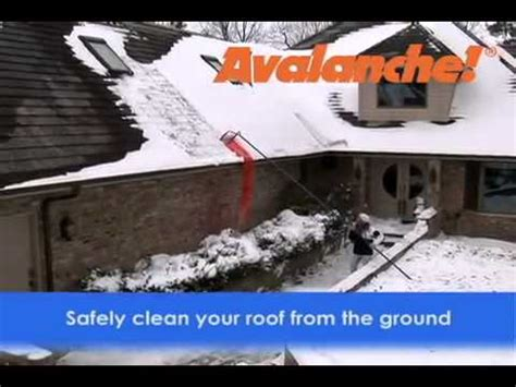 Roof Rake Prevent Dams Best How To Safely Remove Snow And Prevent Dams With Snow Barber Roof Rake How To Make Do